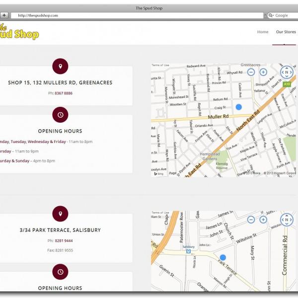 The Spud Shop Website